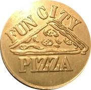 Amusement Token - Fun City Pizza – reverse