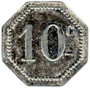10 Centimes - Arçonnerie Française - St Sulpice [81] – reverse