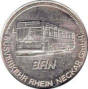 Transport Token - Frankenthal – reverse