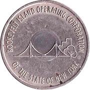 Token - Roosevelt Island Tramway – reverse
