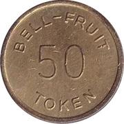 50 Pence - Bell-Fruit Token – reverse