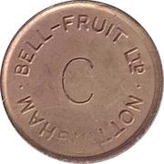 Token - Bell-Fruit (Nottingham - C/G) – obverse