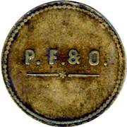 1 Franc Perret Frères et Olivier - Sain-Bel [69] – obverse