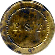 Jeton rond - Perret et Ses Fils - Sain-Bel [69] – reverse