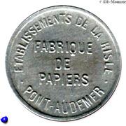 25 Centimes - Etablissement de la Risle - Pont-Audemer [27] – obverse