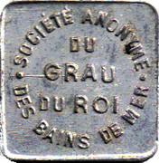 10 Centimes - S A des bains de mer du Grau du roi (30) – obverse