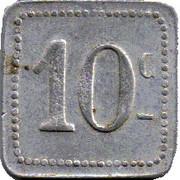 10 Centimes - S A des bains de mer du Grau du roi (30) – reverse