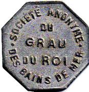 25 Centimes S A des bains de mer du Grau du roi (30) – obverse