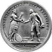 America's First Medals - General Anthony Wayne – obverse