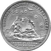 America's First Medals - Colonel De Fleury – reverse