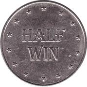 Game Token - Half Win Silver Dollar – obverse