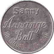 Token - Sammy Arrange Ball – obverse