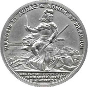 America's First Medals - Colonel De Fleury – obverse