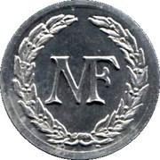 2 Francs (Manufacture Française d'Armes, Saint-Etienne) – obverse