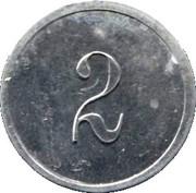 2 Francs (Manufacture Française d'Armes, Saint-Etienne) – reverse