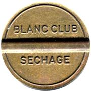 Car Wash Token - Blanc Club Sechage – obverse