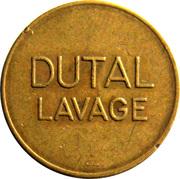 Car Wash Token - Dutal Lavage – obverse