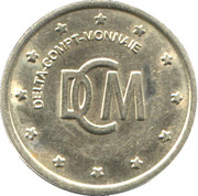 Car Wash Token - DCM – obverse
