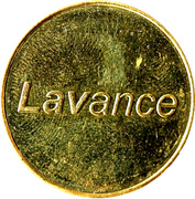 Car Wash Token - Lavance (1) – obverse