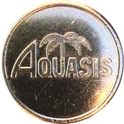 Car Wash Token - Aquasis – obverse
