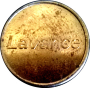 Car Wash Token - Lavance (2) – obverse