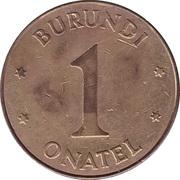 Token - Onatel Burundi – obverse