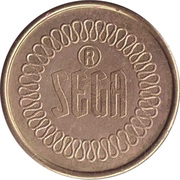 Token - Sega (with serial number) – obverse