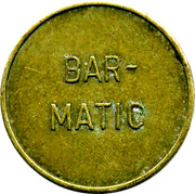 Token - Bar-Matic – obverse