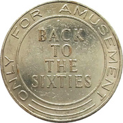 Amusement Token - Back to the sixties – reverse