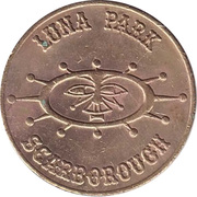 Token - Scarborough Luna Park – obverse