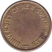 Token - Photo Copy (University of New South Wales) – reverse