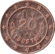 20 Centsesterces - Nutella (Panoramix) – reverse