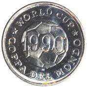 Token - FIFA World Cup 1990 (South Korea) – reverse