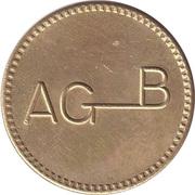 Token - AGB – obverse