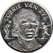 Official Shoprite and Checkers Medal Collection - Corrie van Zyl – obverse