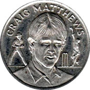 Official Shoprite and Checkers Medal Collection - Craig Matthews – obverse