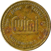 50 Francs - Wimi – reverse