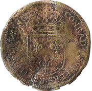Counter Token - Louis XIV (Nuremberg; Conrad Lauffer) – reverse