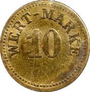 10 Pfennig (Wert-Marke) – obverse