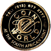 Token - South African Mint Festival 2008 – reverse