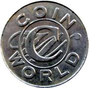 Token - Coin World 1998 – reverse