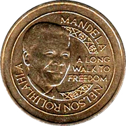 Token - Scoin Shop (Nelson Mandela) – obverse