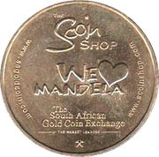 Token - Scoin Shop (Nelson Mandela) – reverse