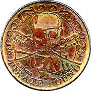 10 Pirate Pound Simba (Ship) – obverse