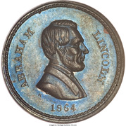 Abraham Lincoln – obverse