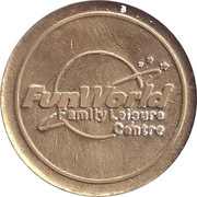 Token - FunWorld Family Leisure Centre – obverse