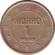 1 Peso - Morro – reverse