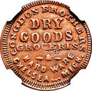 Congdon Brothers Dry Goods Chelsea, MI – obverse