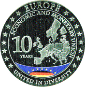 Token - Economic and Monetary Union – obverse