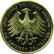 Token - Ferdinand Graf von Zeppelin – reverse